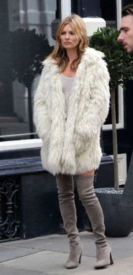 Kate Moss's best street style moments // Harper's Bazaar